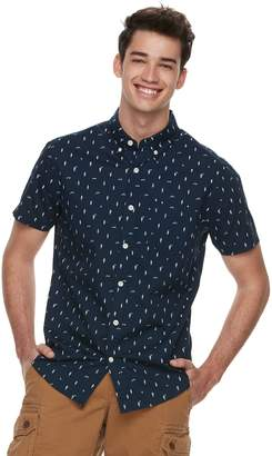 Men's Urban Pipeline Woven Button-Down Shirt