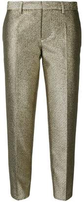 DSQUARED2 cropped jacquard trousers