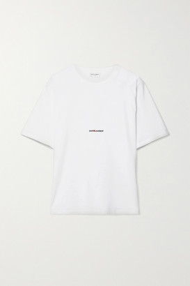 Discount Cheapest Price White Rive Gauche Boyfriend T-Shirt Saint Laurent Clearance Online Official Site Z9BU7k