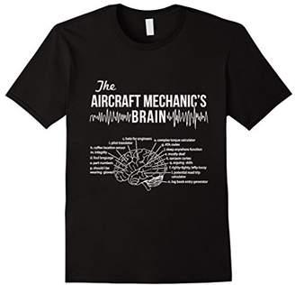 Aircraft Mechanic's Brain - Aircraft Mechanic T-shirt