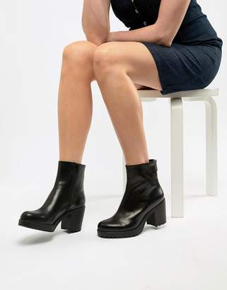 Vagabond Grace CHUNKY Leather Ankle Boot