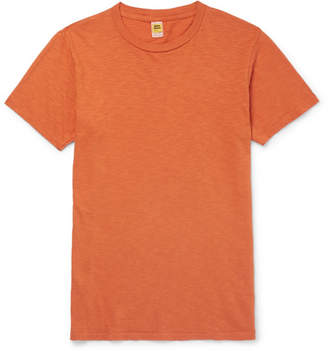 Velva Sheen Slub Cotton-Jersey T-Shirt