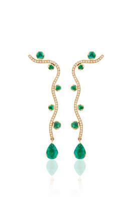 Sophie Bille Brahe L'Ocean Etoile Earrings