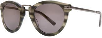 Max Studio lilly : striated sunglasses