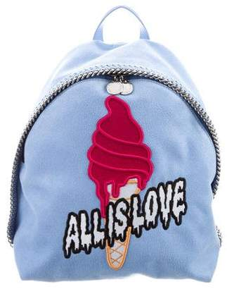 Stella McCartney Ice Cream Vegan Leather Falabella Backpack