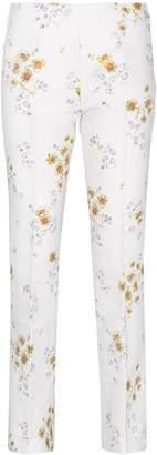 Giambattista Valli Cotton blend floral trousers