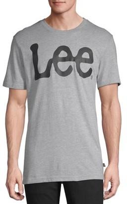 Lee Men's Short Sleeve Crew Neck Logo Tee