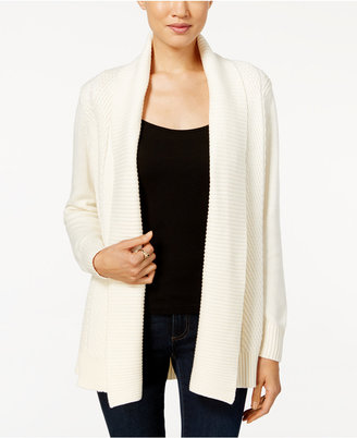 Charter Club Textured Shawl Cardigan, Only at Macy's $79.50 thestylecure.com
