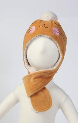Zutano Baby Girls' Velour Bunny Hat