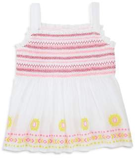 Design History Girls' Embroidered Top - Little Kid