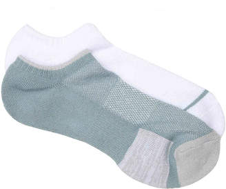 Lemon Solid No Show Socks - 2 Pack - Women's