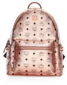 MCM Small-Medium Stark Metallic Backpack