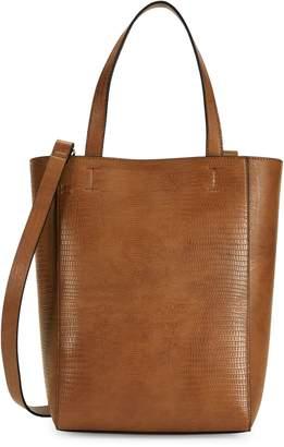 French Connection Small Fifi Embossed Faux Leather Shopper