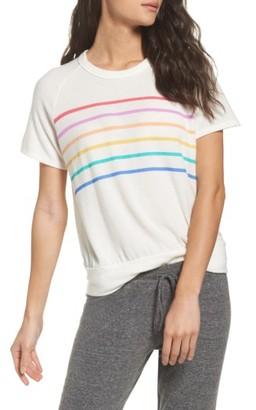 Women's Michael Lauren Joy Raglan Tee $75 thestylecure.com