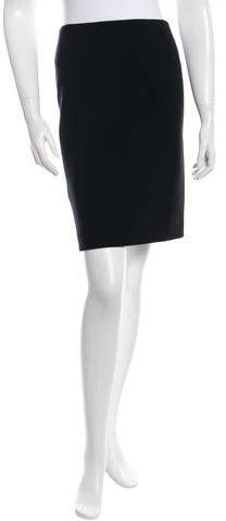 Michael Kors Virgin Wool Pencil Skirt