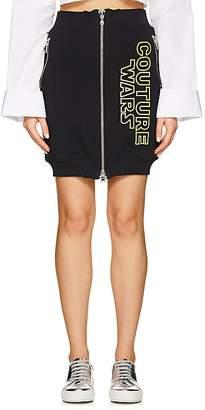 "Moschino Women's ""Couture Wars"" Cotton Miniskirt"