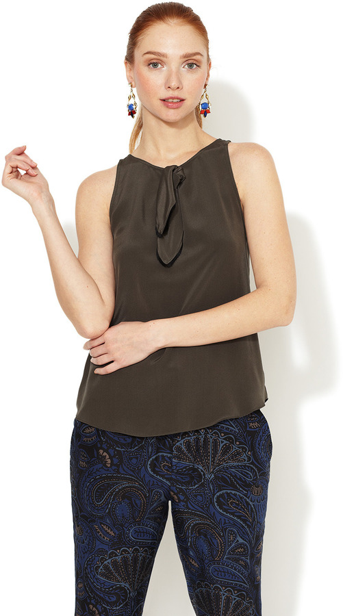 Marc by Marc Jacobs Lilith Silk Top