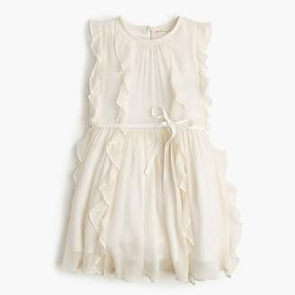 Girls' Belinda dress in crinkle chiffon