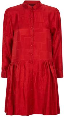 Deborah Lyons Alina Jaquard Patchwork Dress