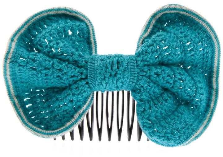 LOWIE - Crochet bow hair grip