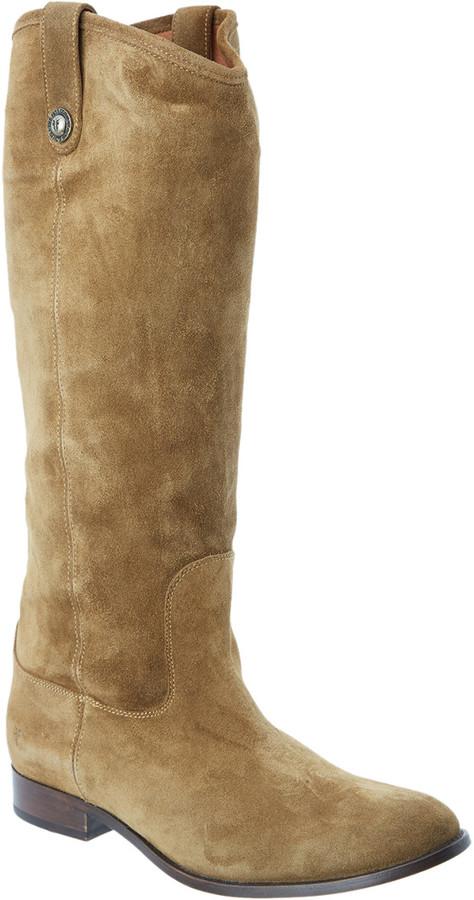 Frye Women's Melissa Button Suede Boot