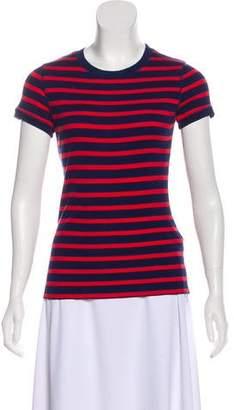 Ralph Lauren Black Label Striped Short Sleeve Top
