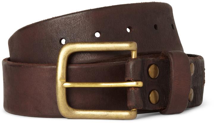 Jean Shop Leather Belt