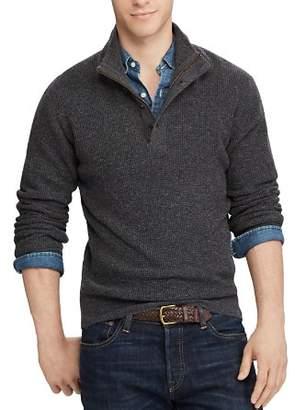 Polo Ralph Lauren Waffle-Knit Merino Sweater