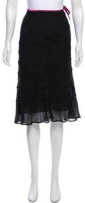 Blumarine Knee-Length Silk Skirt