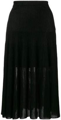 Givenchy ribbed mid-length skirt