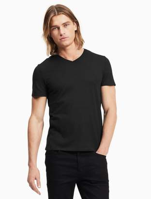 Calvin Klein slim fit textured v-neck t-shirt