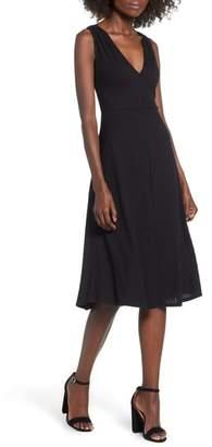 Socialite Rib Knit Midi Dress