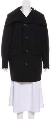 DSQUARED2 Wool Short Coat