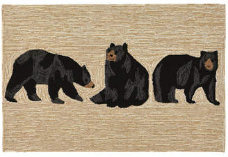 Liora Manné Liora Manne' Front Porch Indoor/Outdoor Bears Neutral 2' x 3' Area Rug