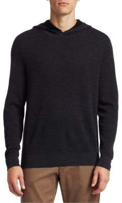 Saks Fifth Avenue COLLECTION Hooded Wool Sweater