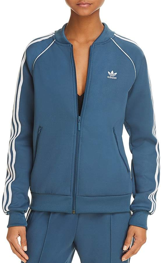 adidas Originals Stripe-Detail Track Jacket