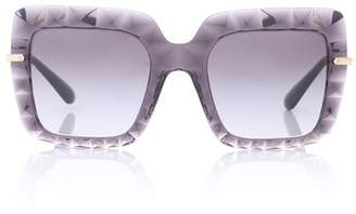 Dolce & Gabbana Oversized rectangular sunglasses