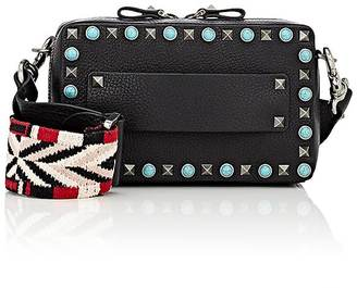 Valentino Women's Rockstud Rolling Small Camera Bag $2,145 thestylecure.com