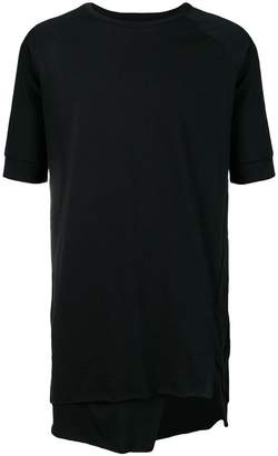 Army Of Me layered long T-shirt