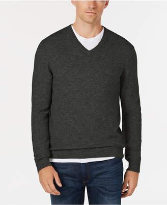 Club Room Men's V-Neck Cashmere Sweater