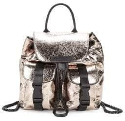 KENDALL + KYLIE Logo Metallic Backpack