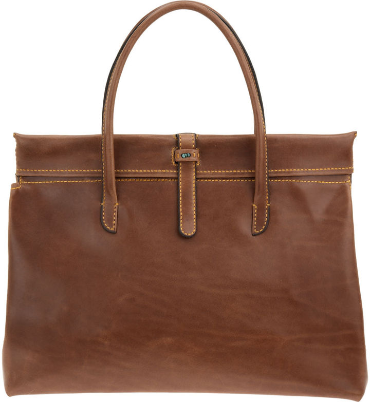 Henry cuir Pin Up Satchel