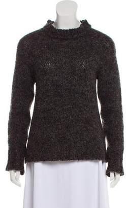 Anine Bing Wool & Mohair-Blend Knit Sweater