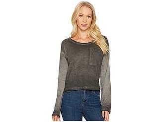 Alternative Cotton Jersey Element Wash High Waisted Tee Women's T Shirt