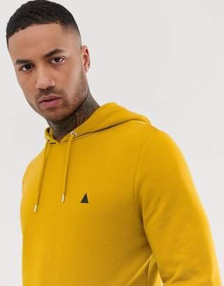 b30e367e3a9f9e Asos Design DESIGN hoodie in yellow with triangle