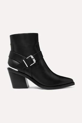 Rag & Bone Ryder Leather Ankle Boots - Black