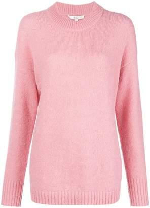 Tibi Jersey drop shoulder sweater