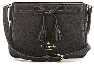 kate spade new york Hayes Street Collection Eniko Tasseled Bow Cross-Body Bag $198 thestylecure.com