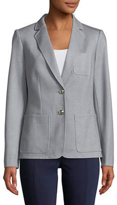 Tommy Hilfiger Two-Button Patch Pocket Blazer
