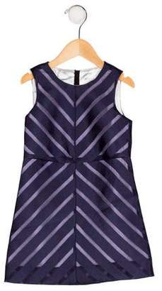 Milly Minis Girls' Chevron A-Line Dress